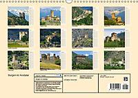 Burgen im Aostatal (Wandkalender 2018 DIN A3 quer) - Produktdetailbild 13