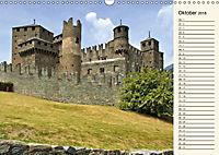 Burgen im Aostatal (Wandkalender 2018 DIN A3 quer) - Produktdetailbild 10
