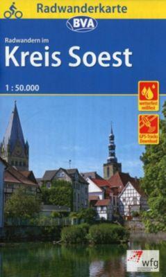 BVA Radwanderkarte Radwandern im Kreis Soest 1:50.000