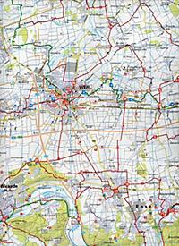BVA Radwanderkarte Radwandern im Kreis Soest 1:50.000 - Produktdetailbild 2