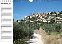 Camino di Assisi - FranziskuswegAT-Version (Wandkalender 2018 DIN A4 quer) - Produktdetailbild 9