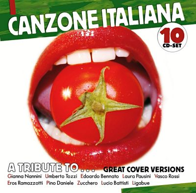 Canzone Italiana, 10 CDs, Diverse Interpreten