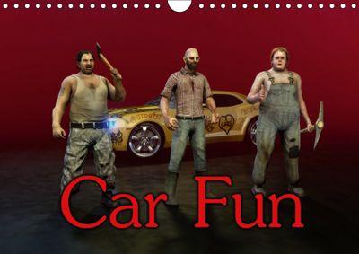Car Fun (Wall Calendar 2018 DIN A4 Landscape), Necrovomit