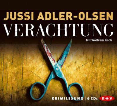 Carl Mørck. Sonderdezernat Q Band 4: Verachtung (6 Audio-CDs), Jussi Adler-Olsen