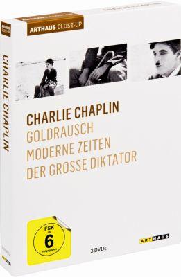 Charlie Chaplin, 3 DVD Box, Charles Chaplin