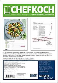 Chefkoch Wochenkalender 2019 - Produktdetailbild 9