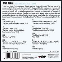 Chet Baker - Milestones of a Jazz Legend, 10 CDs - Produktdetailbild 1