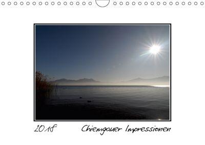 Chiemgauer Impressionen (Wandkalender 2018 DIN A4 quer), N N