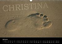 CHRISTINA - Namenskalender (Wandkalender 2018 DIN A3 quer) - Produktdetailbild 7