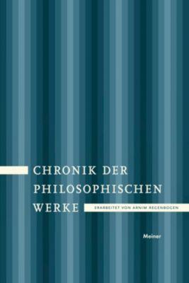 Chronik der philosophischen Werke
