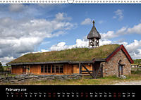 Churches of Norway (Wall Calendar 2018 DIN A3 Landscape) - Produktdetailbild 2