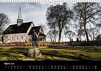 Churches of Norway (Wall Calendar 2018 DIN A3 Landscape) - Produktdetailbild 4