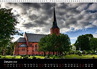 Churches of Norway (Wall Calendar 2018 DIN A3 Landscape) - Produktdetailbild 1