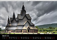 Churches of Norway (Wall Calendar 2018 DIN A3 Landscape) - Produktdetailbild 3