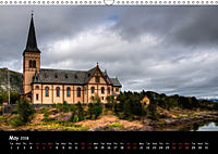 Churches of Norway (Wall Calendar 2018 DIN A3 Landscape) - Produktdetailbild 5