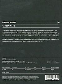 Citizen Kane, DVD - Produktdetailbild 1