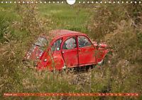 Citroën 2CV - Ente rot (Wandkalender 2018 DIN A4 quer) - Produktdetailbild 2