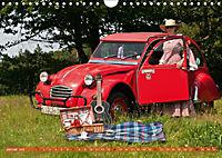 Citroën 2CV - Ente rot (Wandkalender 2018 DIN A4 quer) - Produktdetailbild 1
