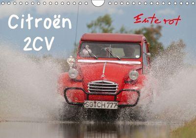 Citroën 2CV - Ente rot (Wandkalender 2018 DIN A4 quer), Meike Bölts