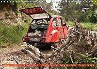 Citroën 2CV - Ente rot (Wandkalender 2018 DIN A4 quer) - Produktdetailbild 6
