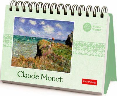Claude Monet Geschenkbuch, Aufstellbuch