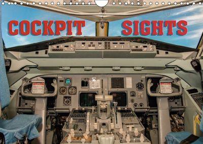 Cockpit sights (Wall Calendar 2018 DIN A4 Landscape), Andy D.