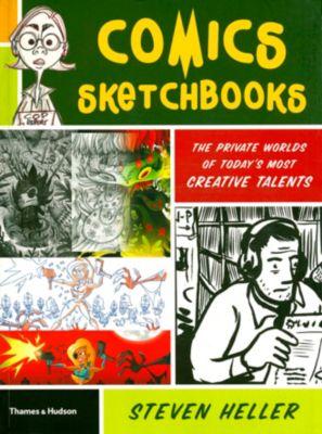Comics sketchbooks, Steven Heller