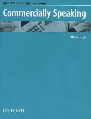 Commercially Speaking, Marion Cadman, Mark Irvine