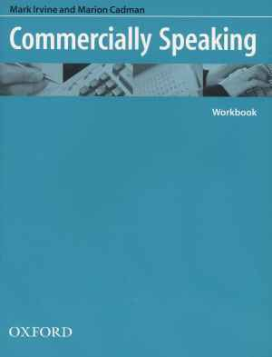 Commercially Speaking, Marion Cadman, Mark Irvine