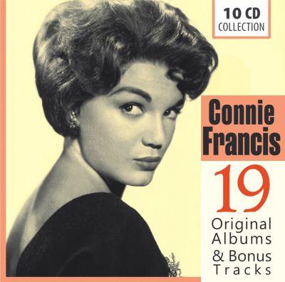 Connie Francis - 19 Original Albums & Bonus Tracks, 10 CDs, Connie Francis