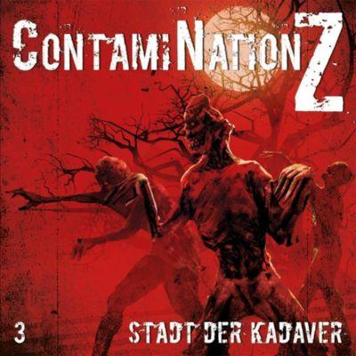 ContamiNation Z - Stadt der Kadaver, 1 Audio-CD, Dane Rahlmeyer