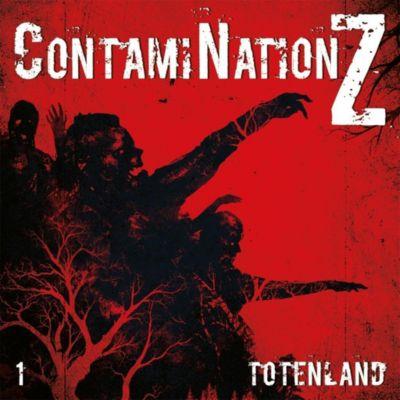 ContamiNationZ - Totenland, 1 Audio-CD, Dane Rahlmeyer