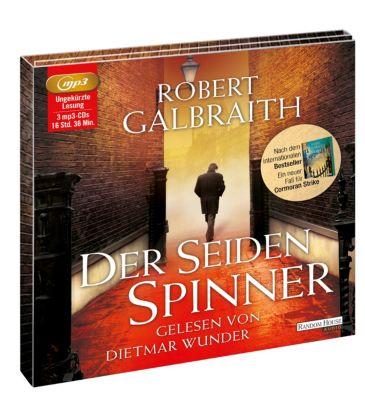 Cormoran Strike Band 2: Der Seidenspinner (3 MP3-CDs), Robert Galbraith