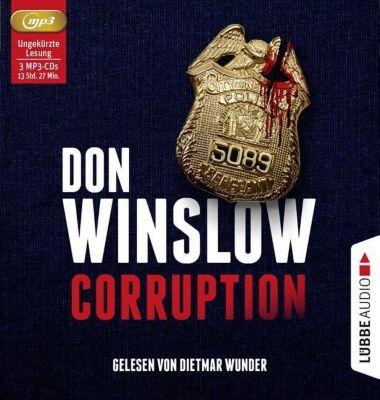 Corruption, 3 MP3-CD, Don Winslow
