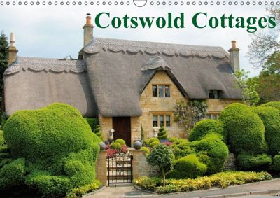Cotswold Cottages (Wall Calendar 2018 DIN A3 Landscape), Jon Grainge