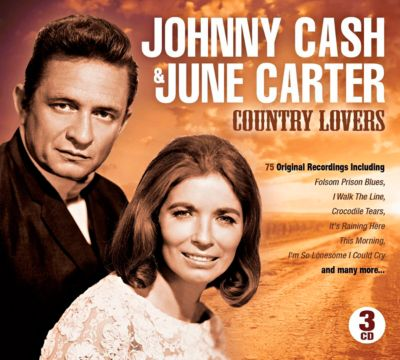 Country Lovers, 3 CDs, Johnny & Carter,June Cash