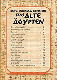 Das alte Ägypten - Puzzle 200 Teile + 32-seitiges Buch - Produktdetailbild 2