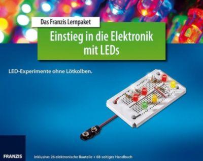 Das Franzis Lernpaket Einstieg in die Elektronik mit LEDs, Burkhard Kainka
