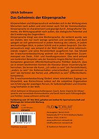 Das Geheimnis der Körpersprache, DVD - Produktdetailbild 1