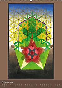 Das Goldene Rechteck - Tafelmalerei von Istvan Seidel (Wandkalender 2018 DIN A2 hoch) - Produktdetailbild 2
