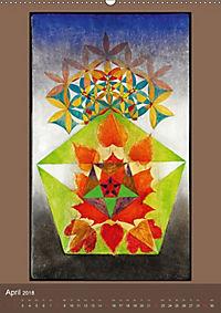 Das Goldene Rechteck - Tafelmalerei von Istvan Seidel (Wandkalender 2018 DIN A2 hoch) - Produktdetailbild 4