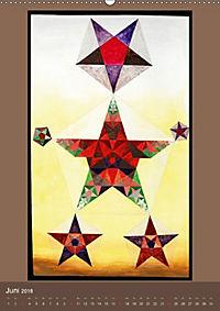 Das Goldene Rechteck - Tafelmalerei von Istvan Seidel (Wandkalender 2018 DIN A2 hoch) - Produktdetailbild 6