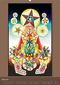 Das Goldene Rechteck - Tafelmalerei von Istvan Seidel (Wandkalender 2018 DIN A2 hoch) - Produktdetailbild 7
