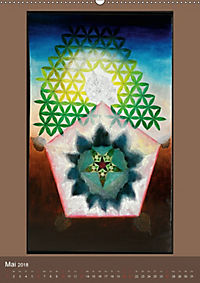 Das Goldene Rechteck - Tafelmalerei von Istvan Seidel (Wandkalender 2018 DIN A2 hoch) - Produktdetailbild 5
