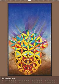 Das Goldene Rechteck - Tafelmalerei von Istvan Seidel (Wandkalender 2018 DIN A2 hoch) - Produktdetailbild 9