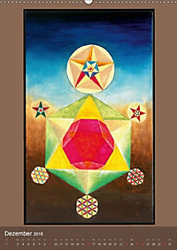 Das Goldene Rechteck - Tafelmalerei von Istvan Seidel (Wandkalender 2018 DIN A2 hoch) - Produktdetailbild 12
