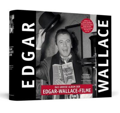 Das große Album der Edgar-Wallace-Filme, handsigniert von Peter Thomas