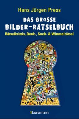 Das große Bilder-Rätselbuch, Hans J. Press