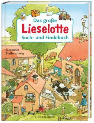 Das große Lieselotte Such- und Findebuch, Alexander Steffensmeier