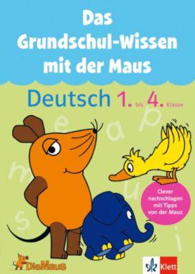 Das Grundschul-Wissen mit der Maus - Deutsch 1.-4. Klasse, Ursula Lassert, Kathrin Glasschröder